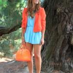 Narancs és türkíz