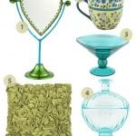 Türkiz vázák