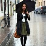 Esős időben