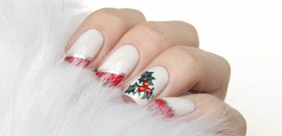 Így készíts karácsonyi körmöket magadnak