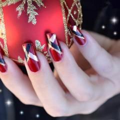 Karácsonyi köröm ötletek
